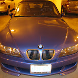 blue bmw z3 in Mississauga, Ontario, Canada