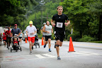 Mid-race picture of Mike. Photo courtesy of the Adams Realty Race Photographer.