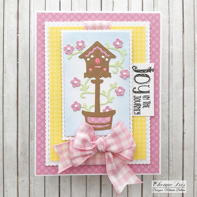 cheapo bird house die card