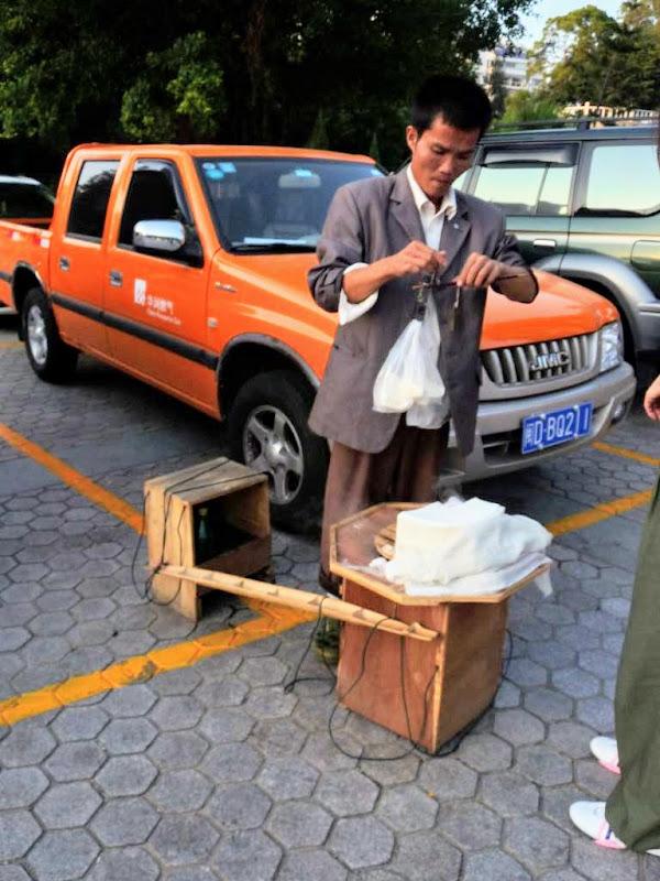 Xiamen.Un vrai étouffe chrétien