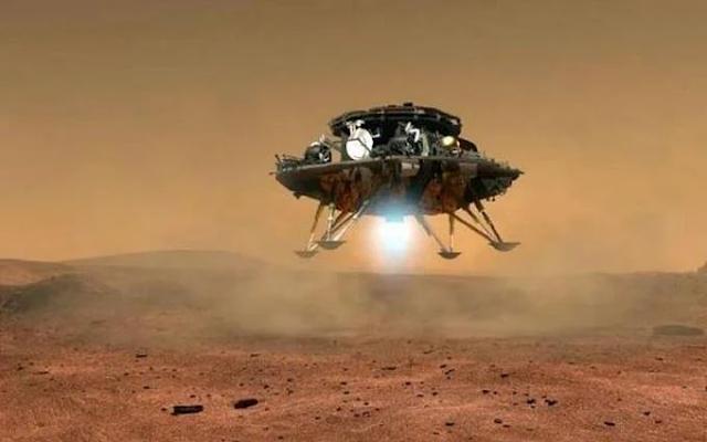 China hace historia al aterrizar un vehículo espacial en Marte en su primera misión