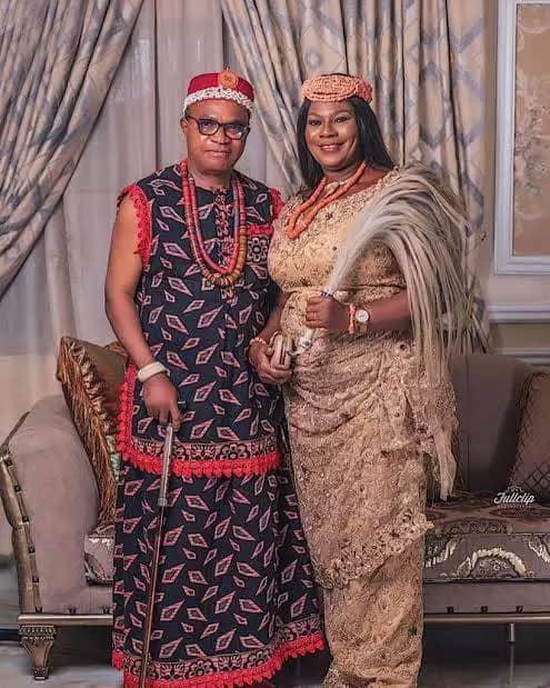 King Leomike Enwerem and his wife