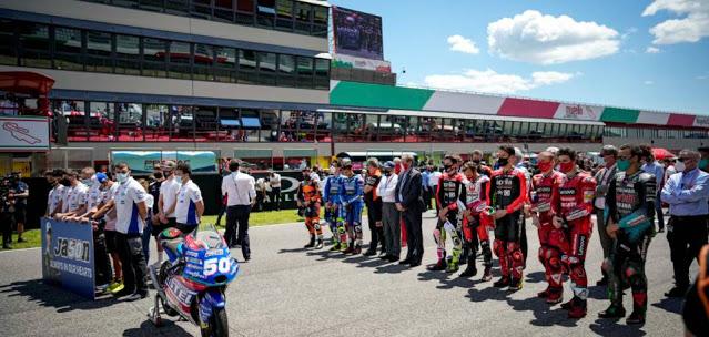 Kritik Valentino Rossi Untuk GP Italia 2021 Saat Jason Dupasquier Gugur