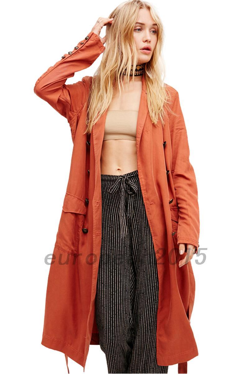 femme sexy manteau trench coat parka veste demi saison. Black Bedroom Furniture Sets. Home Design Ideas