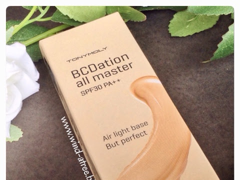 [Review] Tony Moly BCDation All Master SPF 30 PA++