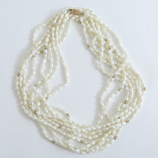 14K Gold & Fresh Water Pearl Necklace