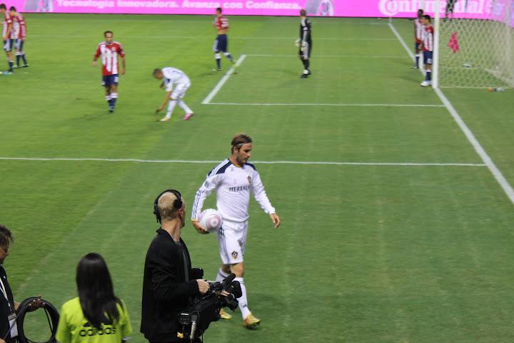 David Beckham, L.A. Galaxy