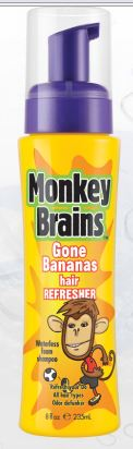 We Really Liked Monkey Brains Gone Bananas Hair Refresher The Is Like A Dry Shampoo That You Can Use When Don T Feel Taking