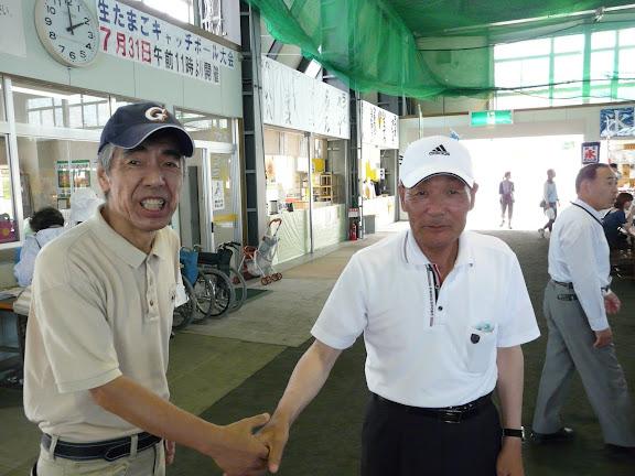 飯田さんと信治さん、再会です