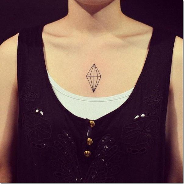 tatuaje_de_contorno_del_diamante