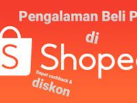 Pengalaman Beli Pulsa di Shopee 2021, Dapat Cashback & Diskon !!