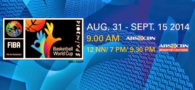 ABS-CBN Live Streams 17th FIBA Basketball World Cup 2014