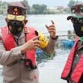 Kapoldasu dan Pangdam I/BB Pimpin Penataan Keramba Jaring Apung di Danau Toba