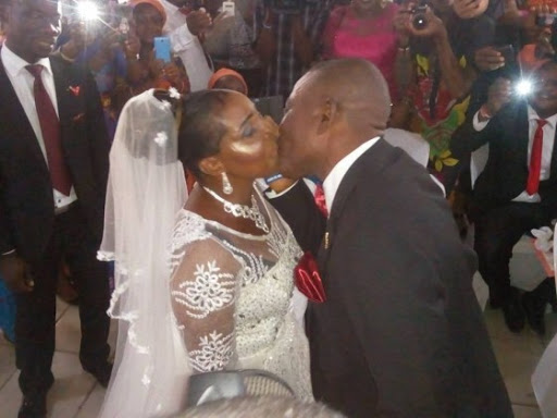 50-yr-old Nigerian Woman Got Married For The First Time In Port Harcourt