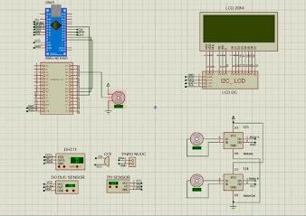 Mạch bể cá thông minh Arduino nano, Wifi 8266, Blynk,