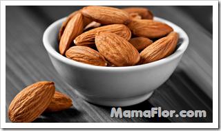 Almendras, frutos secos