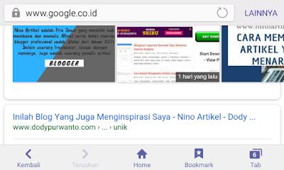 Hikmah Dibalik Review Blog Nino Artikel