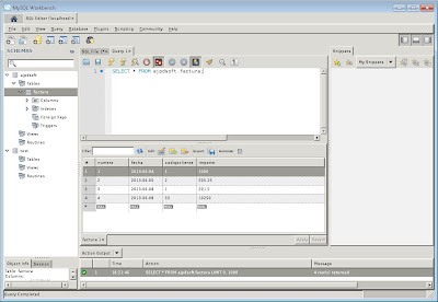 Instalar MySQL Workbench en Linux Ubuntu Server 13.04 y abrir el modo gráfico en Windows con Xming y PuTTY
