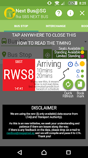 Bus Stop SG (SBS Next Bus)- screenshot thumbnail