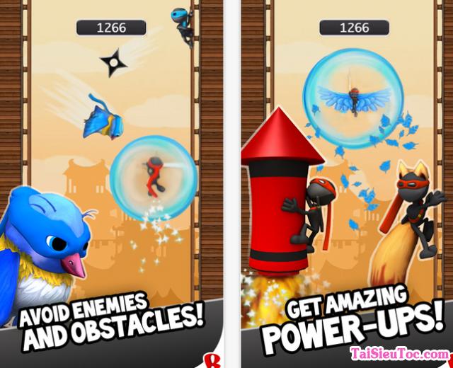 Tính năng game ninjump cho iPhone