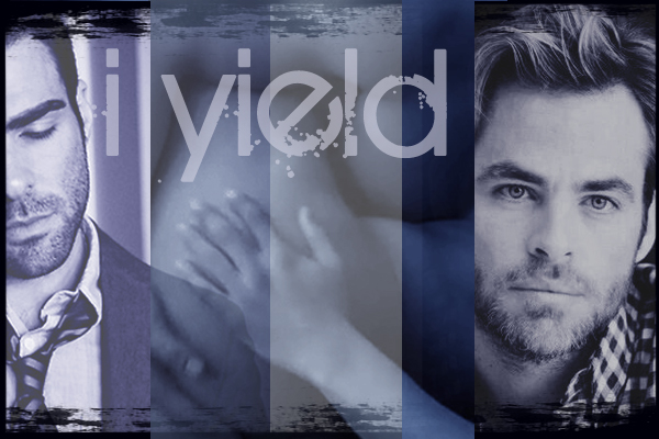 chapter banner with Zach and Chris and the words 'I yield'