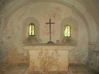Bellême Crypte Chapelle Saint-Santin