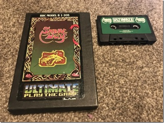 Sabre Wulf BBC Micro