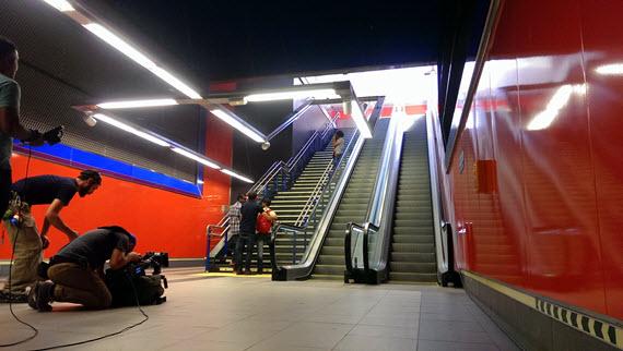 Los rodajes de cine y televisión en Metro crecen un 66% durante 2015