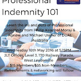 YIPs WA Professional Indemnity 101