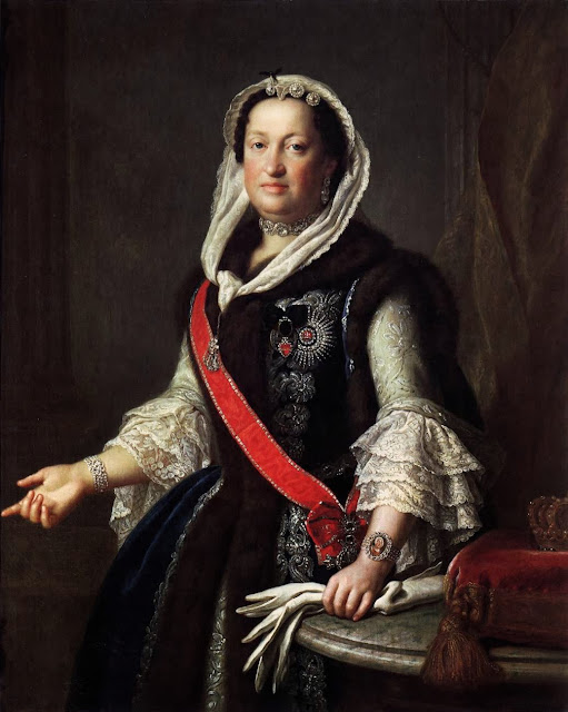 Pietro Antonio Rotari - Queen Maria Josepha, Wife of King Augustus III of Poland