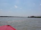In Rust beim Rausfahren aus der Bucht
