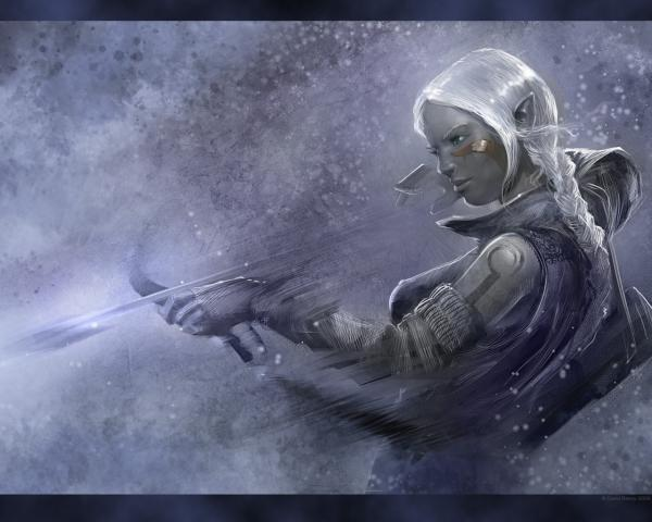 Elf Girl Snow Archer, Elven Girls 2