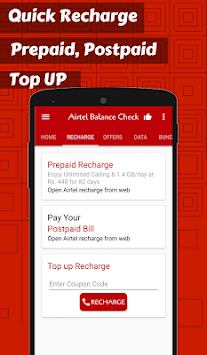 Mobile Balance check & Recharge for Airtel APK Latest Version