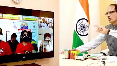MP news वैक्सीनेशन का सुरक्षा चक्र करेगा कोरोना से बचाव - मुख्यमंत्री श्री चौहान | cm shivraj news today