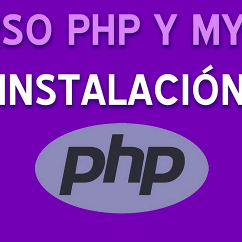 Curso completo de PHP + MySQL con más de 50 videos