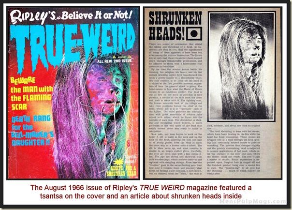 Ripley's TRUE WEIRD magazine August 1967