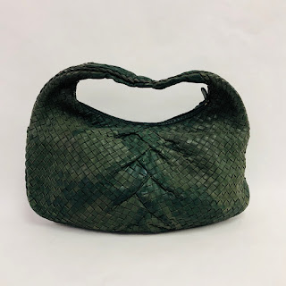 Bottega Veneta Green Shoulder Bag