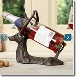 Cast Iron Wine Bottle Holder