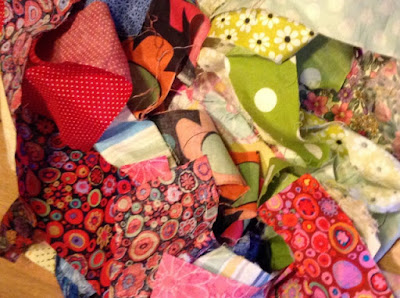 My life as a bag of fabric scraps