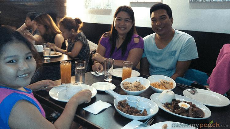 Dinner at Pino Restobar