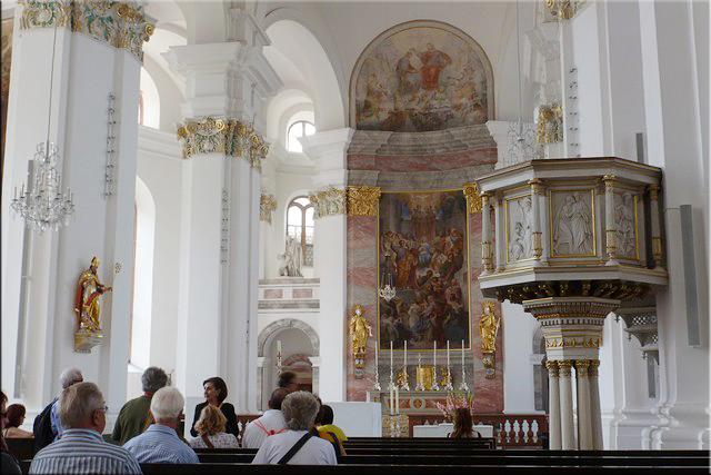 Interior de la Iglesia Jesuita (Jesuitenkirche) - Heidelberg