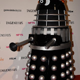 OIC - ENTSIMAGES.COM - Doctor Who Dalek at the National Film and Television School (NFTS) Gala celebrating film, TV and video games characters  London 2nd June 2015   Photo Mobis Photos/OIC 0203 174 1069