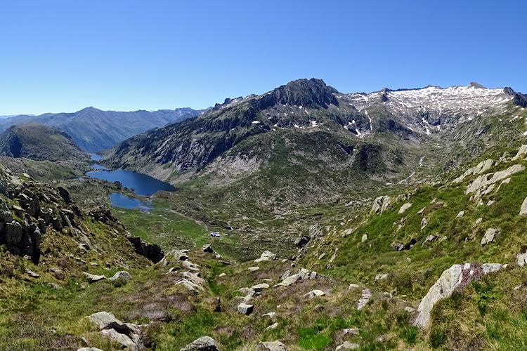 L'Ariège à pied - Le Pic de Cabanatous par l'Étang d'Alate