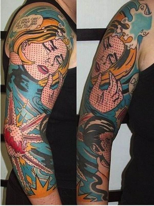 quadrinhos_tatuagem_de_um_homem_e_uma_mulher_tendo_uma_conversa