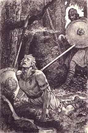 Siegfried Death, Asatru Gods And Heroes