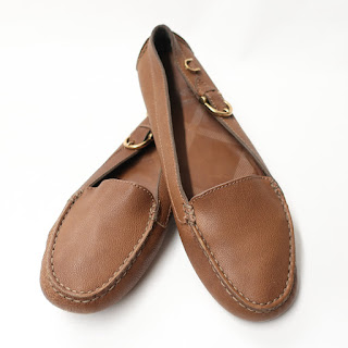 Burberry Leather Driving Mocs