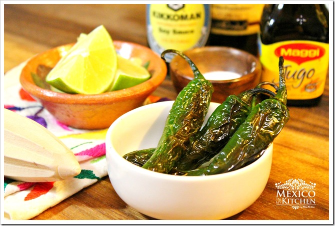 How to make Chiles Toreados Recipe | Authentic Mexican Food Recipes