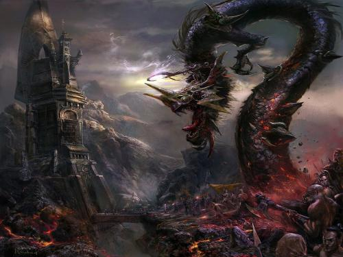 Fantasy Dragon Of Death, Dragons
