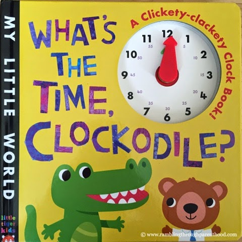 What's The Time, Clockodile - a book by Little Tiger Press UK