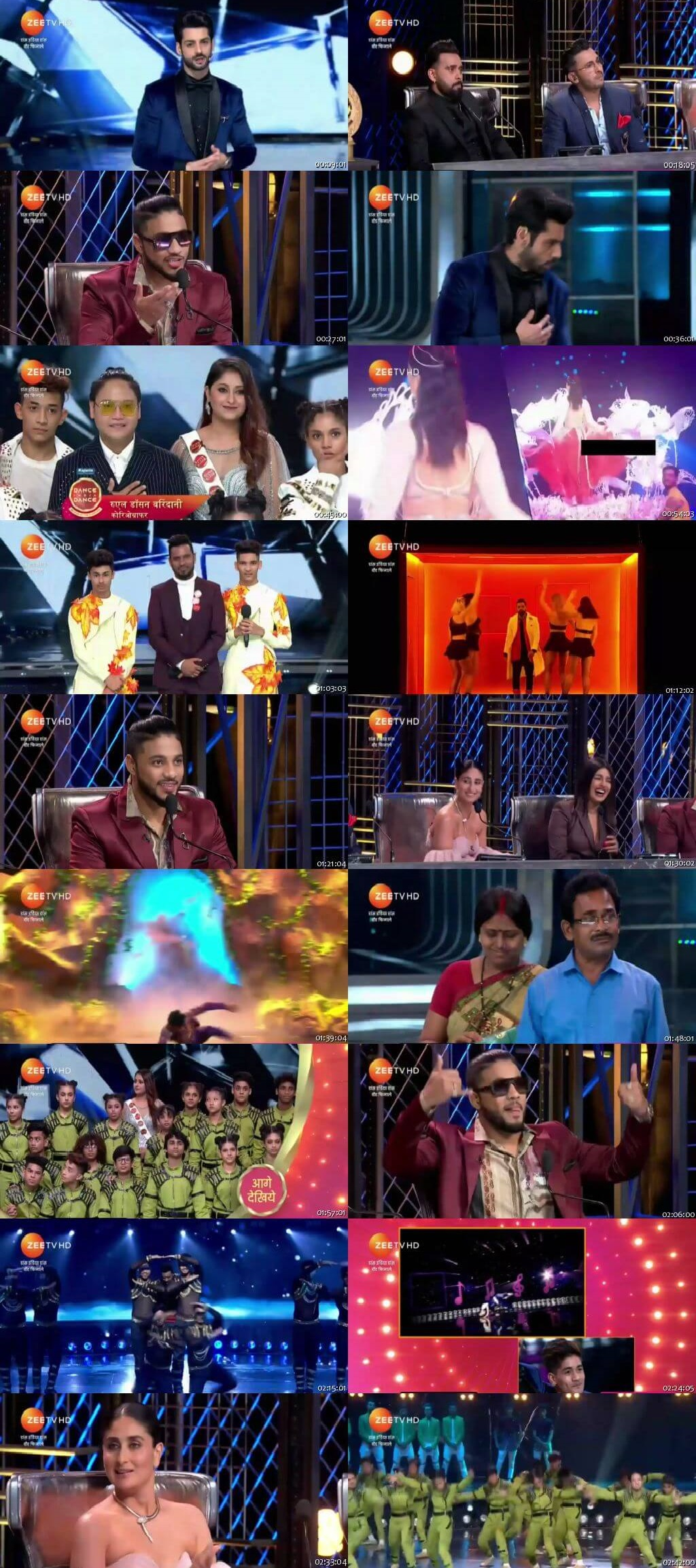 Screenshots Of Hindi Show Dance India Dance Battle of the Champions Season 7 29th September 2019 Episode 30 - Grand Finale 300MB 480P HD